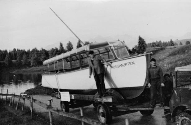 Fahrgastschiff Rosshaupten
