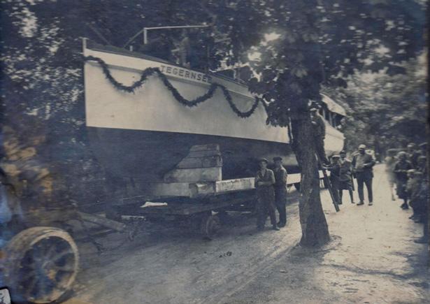 Fahrgastschiff Tegernsee