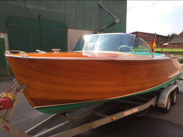 Original Simmerding Motorboot Bj. 1965