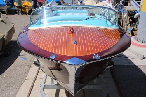 Motorboot Restaurierung San Marco California