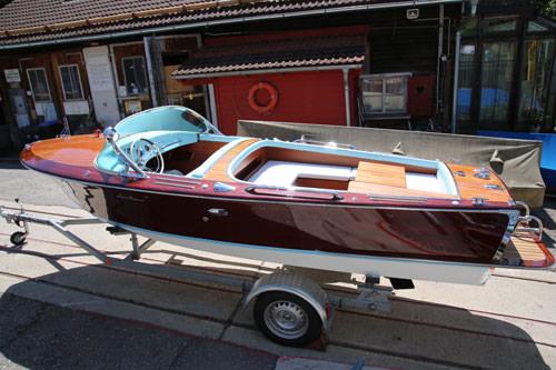 Beliebt Restaurierung eines Motorboot Klassikers - Bootswerft Simmerding XS11