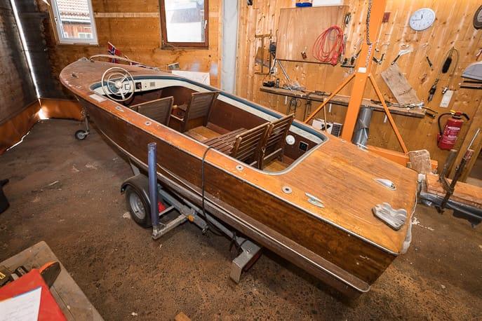 Rambeck Motorboot Klassiker aus den 50er Jahren