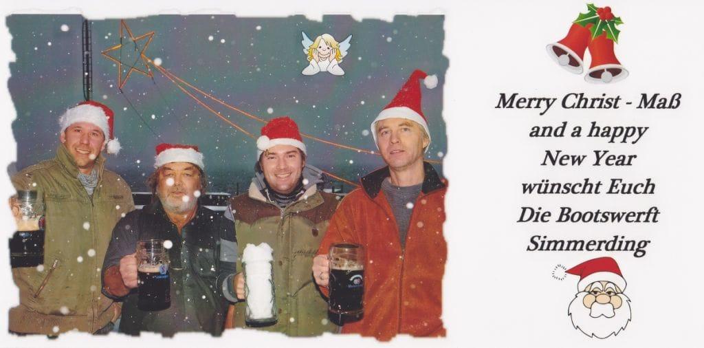 Simmerding Weihnachtskarte 2012