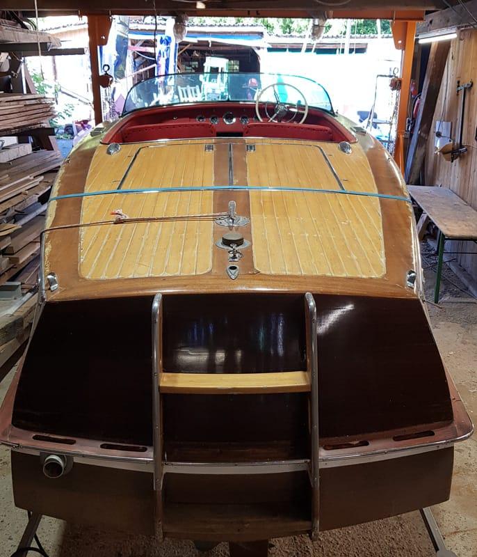 Swiss-Craft Mahagoni Sportboot