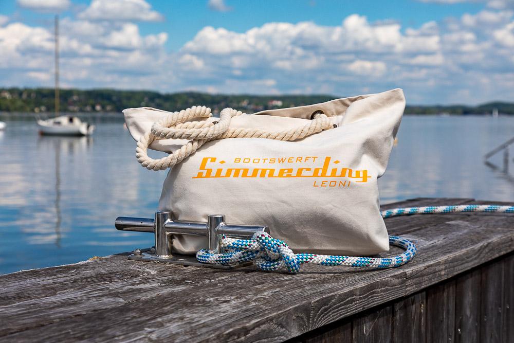 Simmerding Kollektion Beach Bag beige